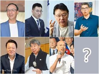 藍營5大咖黨主席「民調」曝光 他讓網友嚇一跳