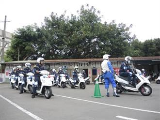 車技再升級 大批警察出沒駕訓班 狂練急剎閃避絕招