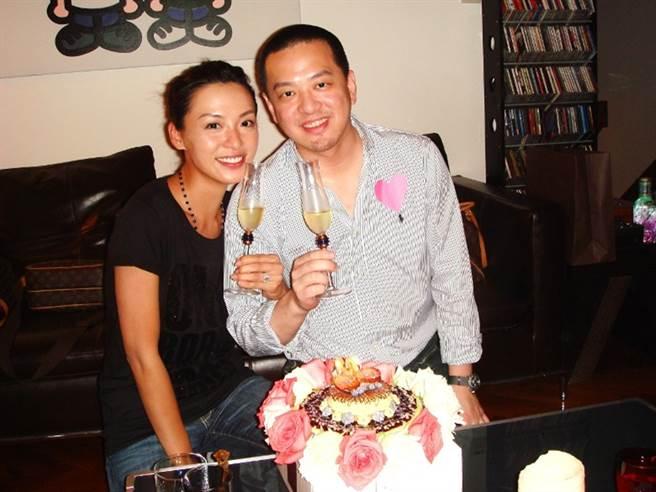 陈炜与前夫4年婚姻告吹。(图/取自《on.cc东网》)