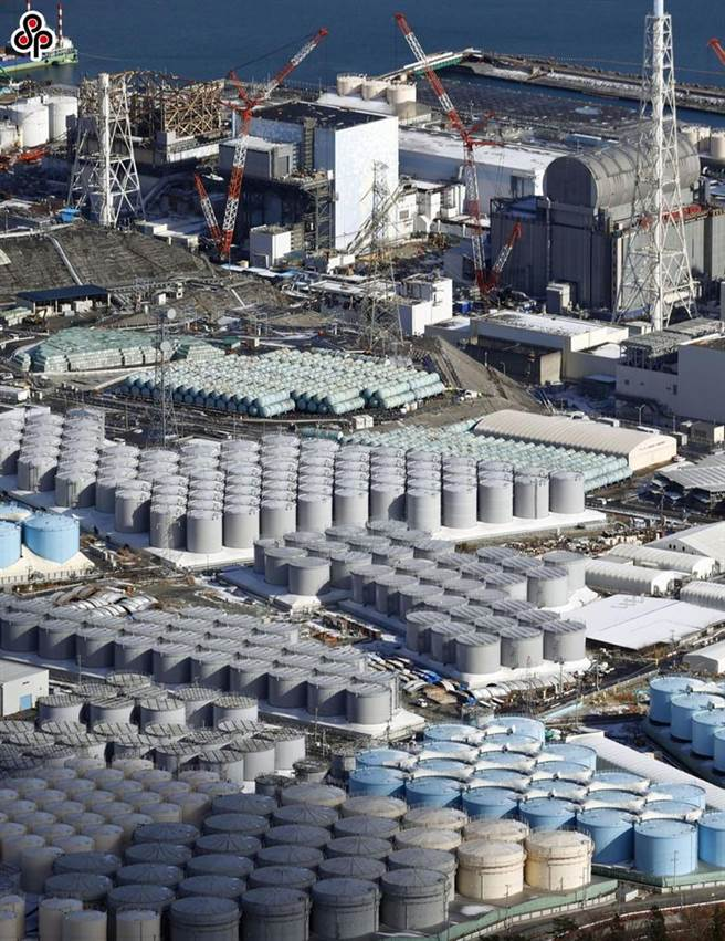 (圖為日本福島第一核電站核污水儲水罐。圖/本報資料照片)