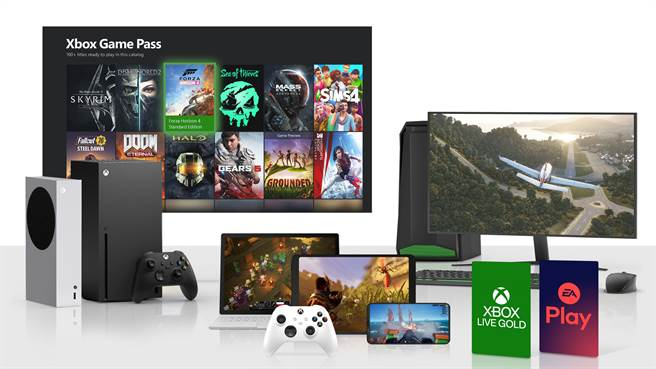 Xbox 四月起更多迎來全新硬體、遊戲大作造福玩家。(台灣微軟提供/黃慧雯台北傳真)