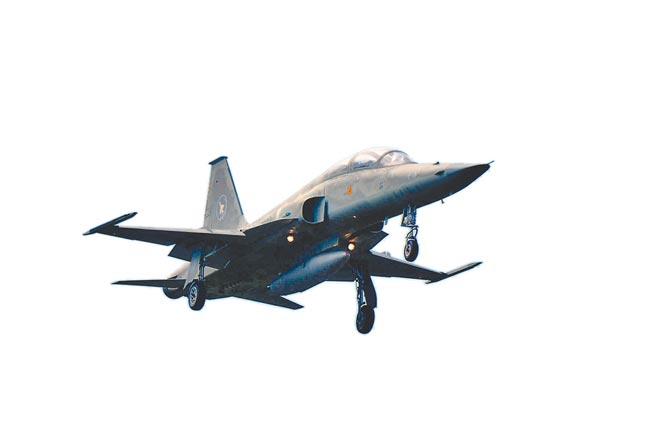 F-5戰機/1974(莊哲權攝)