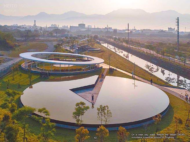 屏东县县民公园参加美国缪斯设计奖,在全世界3942件作品中,荣获景观类「公园与开放空间」项目首奖殊荣。(李易暹提供/潘建志屏东传真)