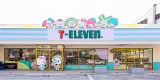 台南首間7-11「OPEN! X Sanrio三麗鷗聯名主題店」 今永康亮相