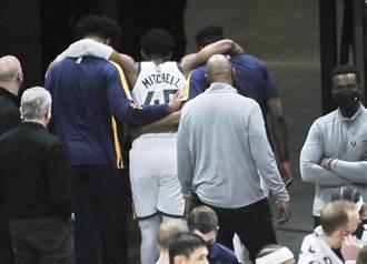 NBA》米契爾腳踝大扭退場 激勵爵士逆轉勝溜馬