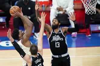 NBA》死守東區老大席位 七六人驚險斬斷快艇連勝
