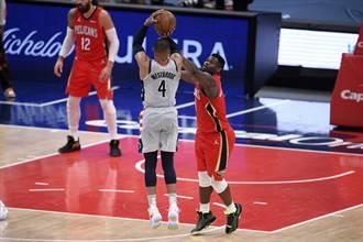 NBA》氣炸了!錫安威廉森嘟嘴坐看韋少罰球絕殺