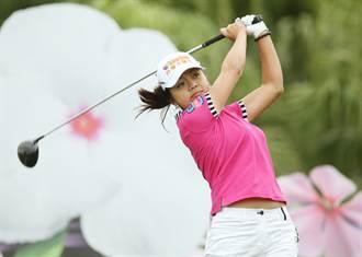 高球》LPGA純絲錦標賽 徐薇淩克服疲累暫列榜首
