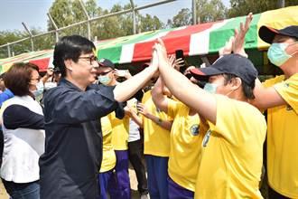 天使盃棒球體驗營 陳其邁、郭泓志與孩子同樂