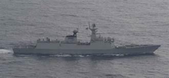 大陸054A型導彈護衛艦「荊州號」侵入我領海  澎湖軍方:上級未授權不回應