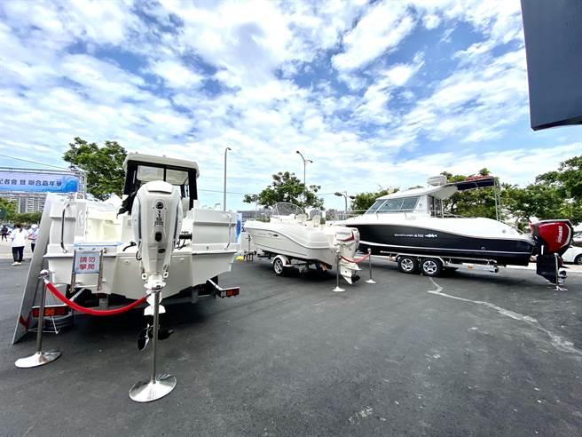台中市打造梧棲國際觀光漁港,帶動遊艇海上休閒活動。(盧金足攝)