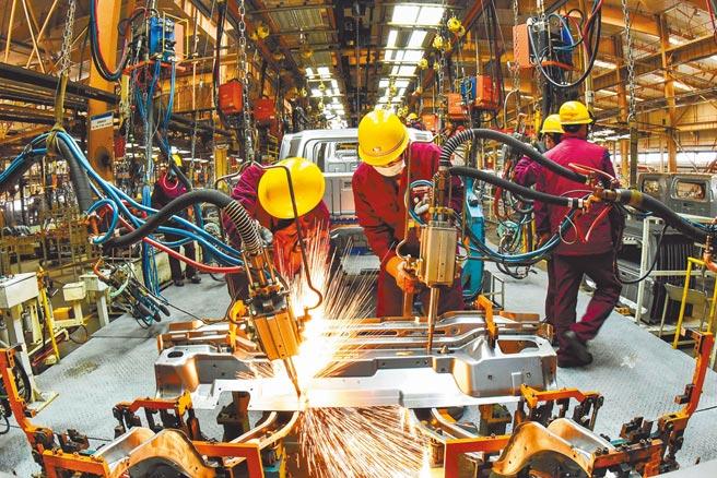 大陸國家統計局昨日公布,第一季國內生產總值24兆9310億人民幣,較去年同期增長18.3%。(新華社)