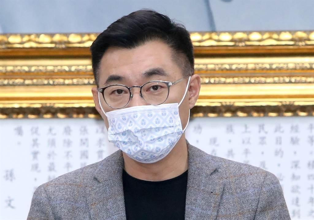 爭取不同聲音被國際聽到,江啟臣:不能被一黨壟斷。(報系資料照)