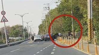 臺南仁德當街砍人案 警逮2人4人在逃