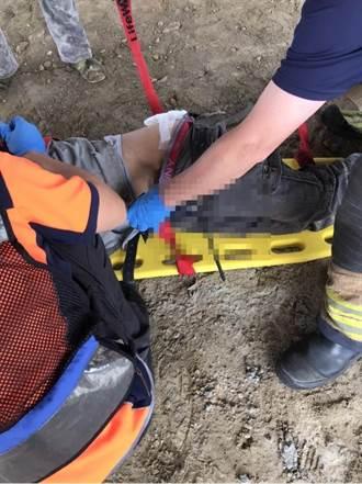 台南永康移工3公尺高处坠落 钢筋刺伤屁股、大腿