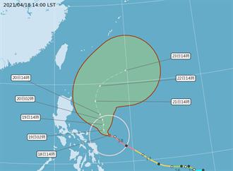 一張圖看懂下周降雨熱區 舒力基颱風強度達顛峰