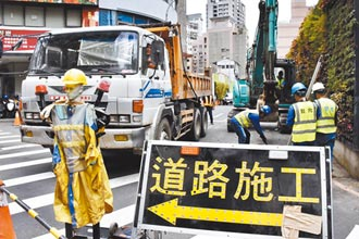 台水施工 中市館前路4月19日起封閉