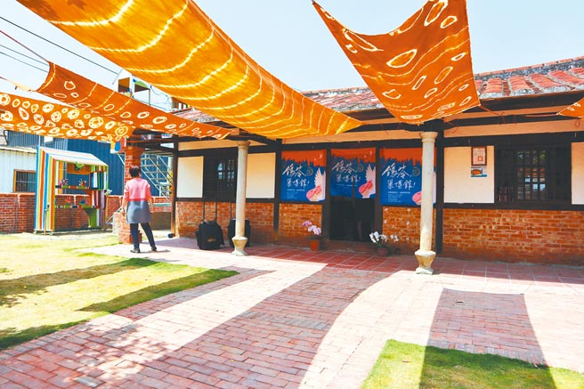 台南市政府文化局與鹽水區竹埔社區返鄉青年合作,打造鴿笭巢博館。