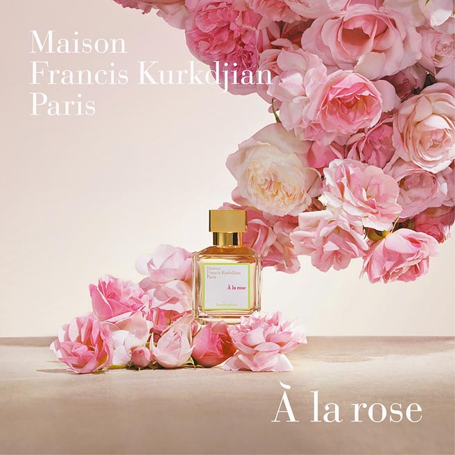 MFK a la rose 爱恋玫瑰70ml,6980元。(MFK提供)
