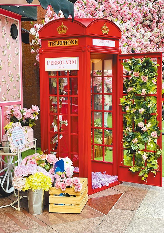 蕾莉欧以玫瑰香调打造香氛快闪店,价格店洽。(蕾莉欧提供)
