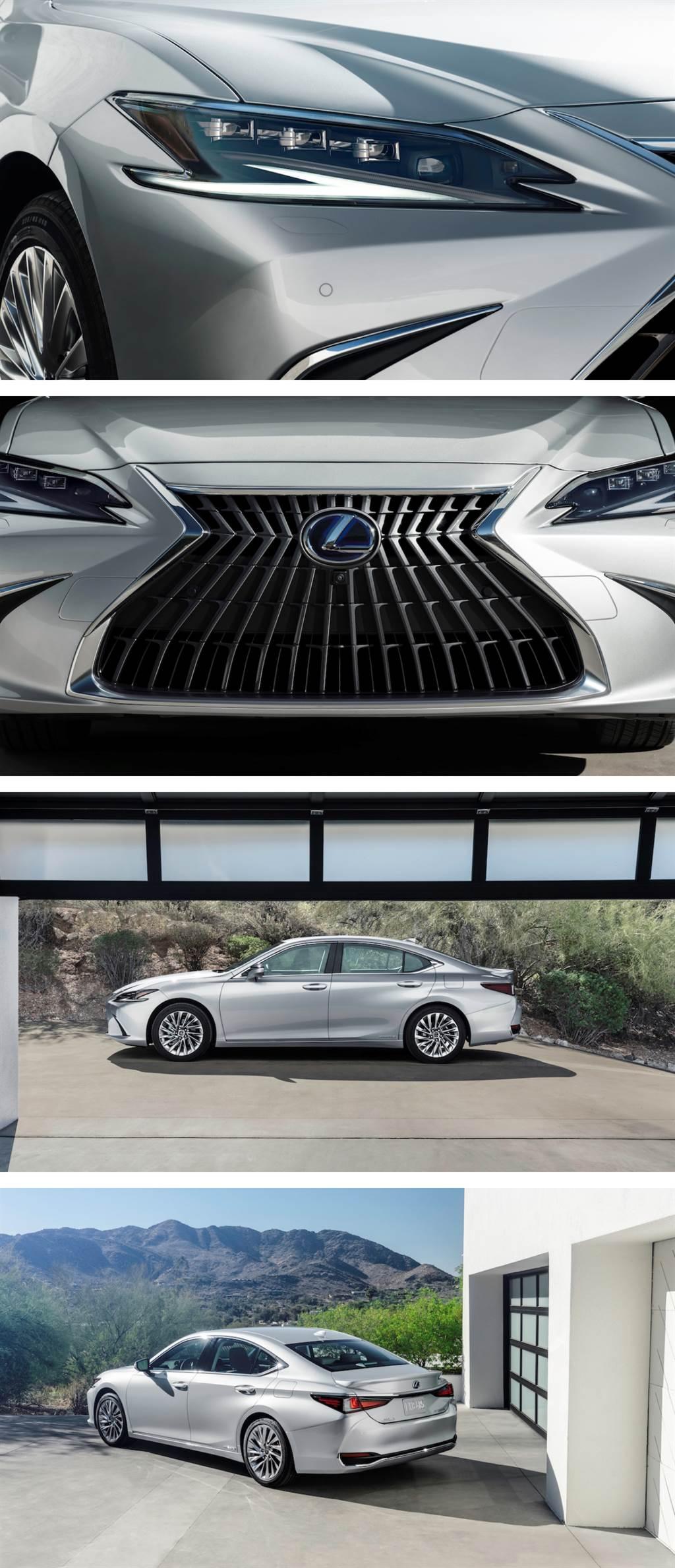 2021 上海車展:強化舒適性與駕乘反應的新豪華境界,Lexus ES 小改款全球首發!
