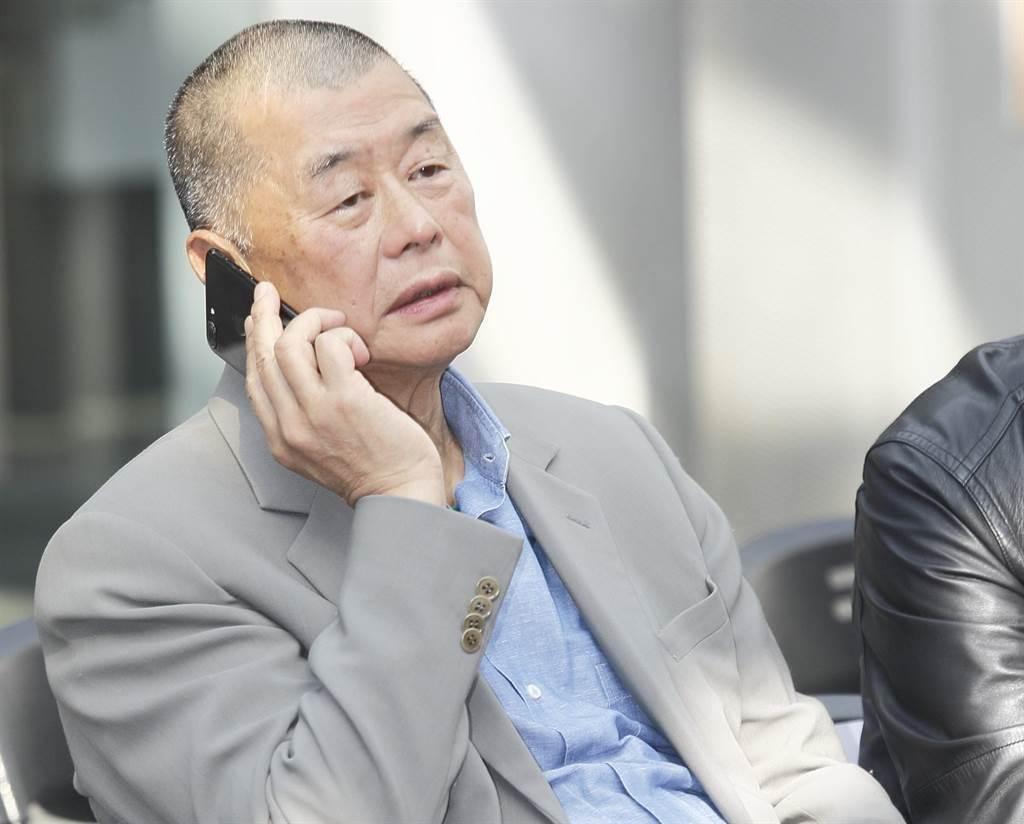 壹傳媒創辦人黎智英。(圖/本報資料照,張鎧乙攝)