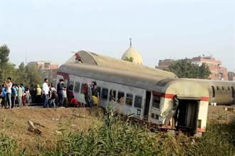 埃及火車脫軌 釀11死98傷