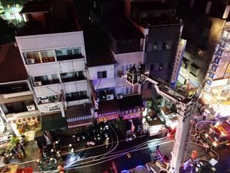 【台中惡火】3幼童遭嗆昏燒傷喪命 消防員:全困在樓梯間轉角