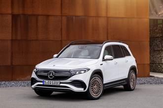 2021 上海車展:續航力最高達 478km,Mercedes-Benz EQB 七座電動休旅車全球首發