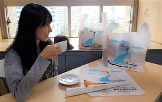 幾米設計環保兩用袋 北市推第2款22日限量開賣