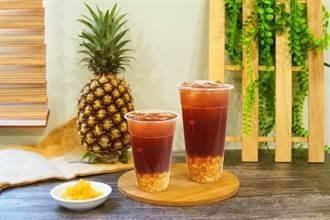 你今天吃鳳梨了嗎?清心新品 鳳梨紅茶IN起來