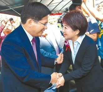 林佳龍復出選台中市長?對決盧秀燕 最新支持度民調曝光