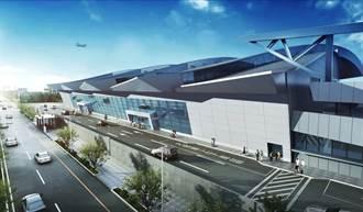 台中機場國內航廈改建今上梁 明年底完工