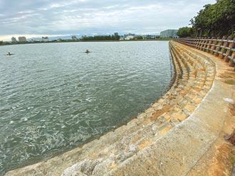 埤塘雖蓄水 旱災期間使用效益低
