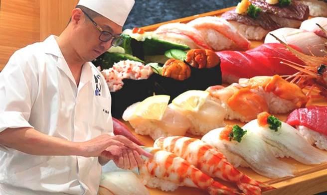 圖/莞固和食行政主廚林瑞彬以職人作料理精神,由衷讓客人可以體會到日本料理,最初衷的用心、溫度、細膩及對夢想的執著。(莞固和食提供)