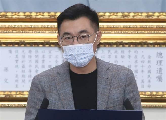 國民黨立委江啟臣(資料照,鄭任南攝)