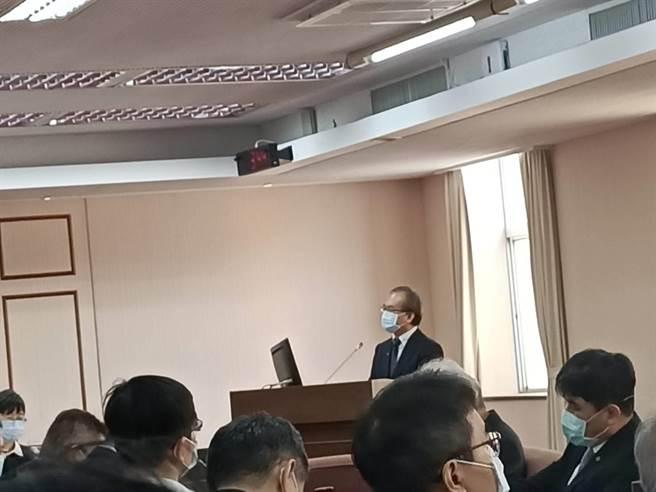 交通部政務次長陳彥伯(簡立欣攝)
