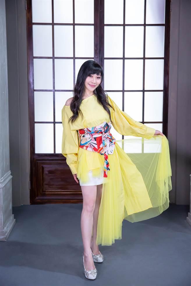 紫君睽違2年推出新專輯。(欣代唱片提供)