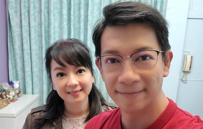 谷懷萱、徐展元從同學升格夫妻。(圖/FB@谷懷萱)