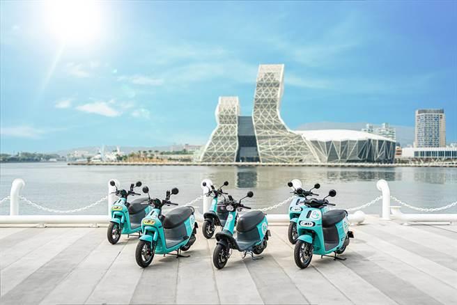 新加入的Goshare,首批將投放700輛電動機車提供共享租賃服務。(圖/ Goshare提供)