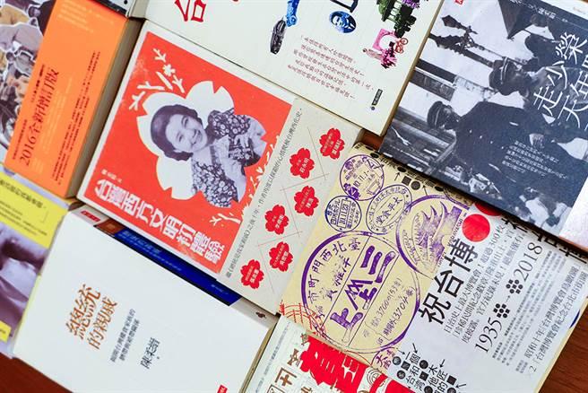撰写无数人物和社会史书籍,陈柔缙的作品为近代臺湾留下歷史见证。(摄影/李瑰娴)