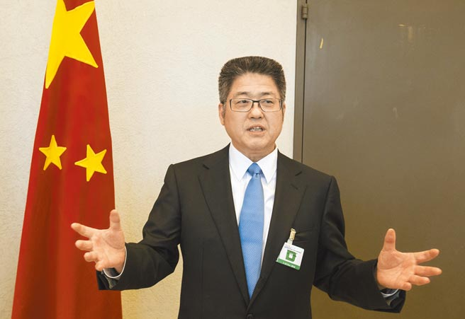 中國外交部副部長樂玉成強調,美國打台灣牌非常危險,這是一條紅線。(新華社)