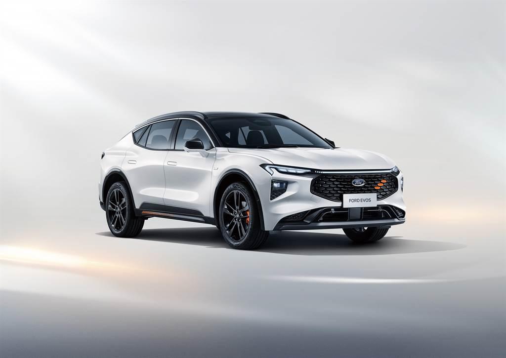2021 上海車展:首款由中國主導、不隸屬任何車系,Ford EVOS Coupe SUV 全球首發!