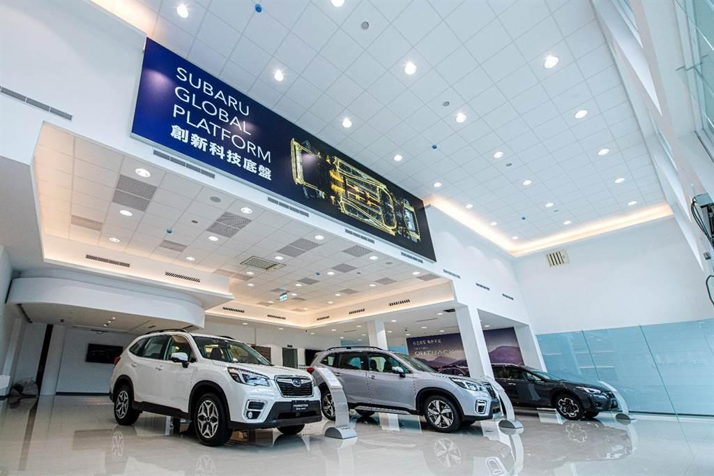 以全方位功能精緻型態規劃的SUBARU竹北展示中心,百坪面積可同時展示6輛新車及貴賓專屬停車場,在專業銷售團隊親切服務之下,提供消費者最舒適而無壓力的賞車體驗。