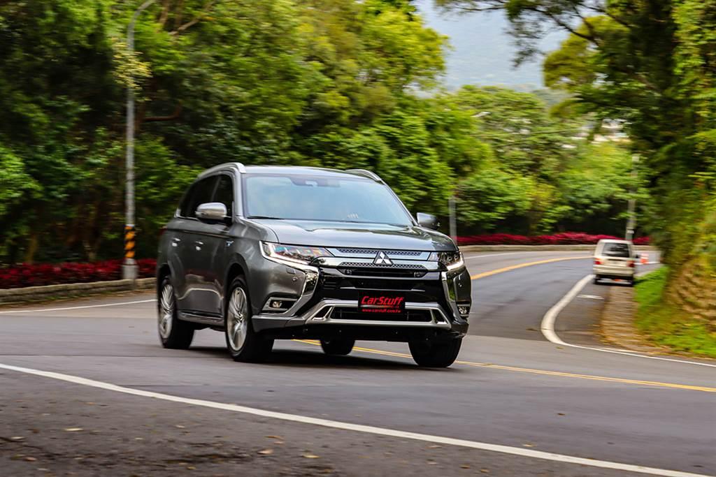 先進電能技術加持再戰新能源版圖,2021 Mitsubishi Outlander PHEV 2.4 二度改款