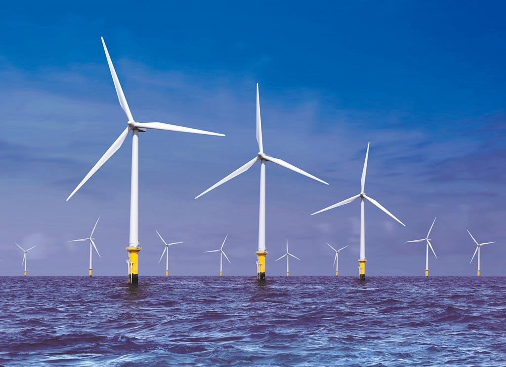 東元電機奪下離岸風電產業在地化商機(此為示意圖)。(東元電機提供)