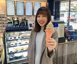 被超商耽誤的霜淇淋店 全家「東方美人茶」霜淇淋撞色新上市