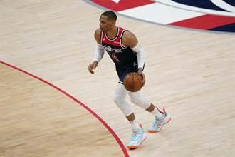 NBA》韋少再砍大三元 17次助攻場均超越哈登