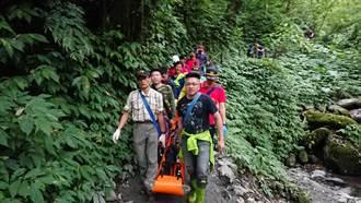 山域意外頻傳 宜縣消防局分析體力不支是主因