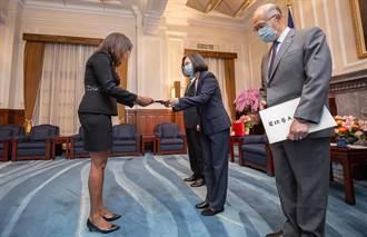 貝里斯新駐台大使遞到任國書 總統:盼共同迎向新發展